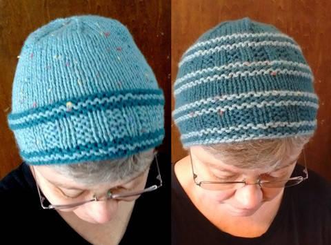 Rails to Trails Hat PDF knitting pattern at Makerist