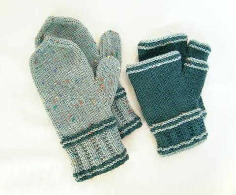 Rails to Trails Mitts & Mittens PDF knitting pattern at Makerist