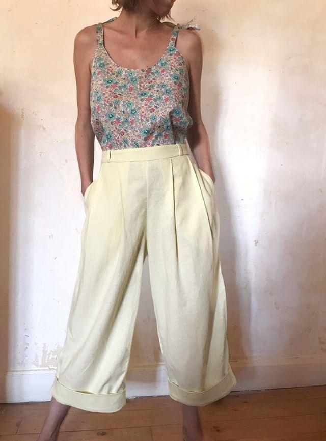 Pantalon femme Plume patron de couture PDF - du 34 au 48
