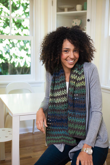 Floating Triangles Scarf at Makerist - Image 1