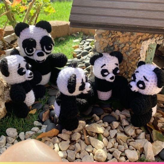 TUTO PDF famille panda au crochet chez Makerist - Image 1