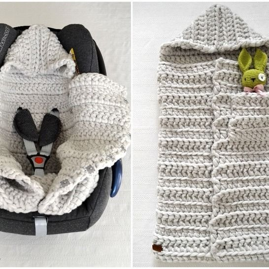 Baby Sleeping Bag 3in1 Pattern PDF at Makerist - Image 1