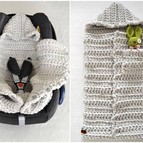 Baby Sleeping Bag 3in1 Pattern PDF at Makerist