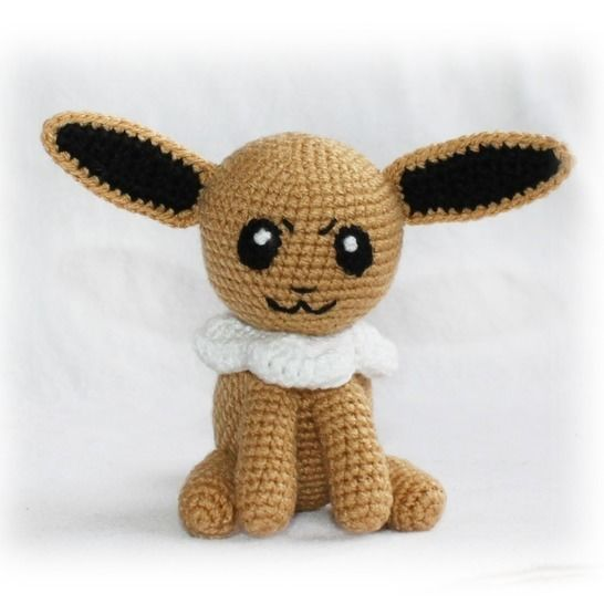 Eevee Pokemon Crochet Pattern at Makerist - Image 1