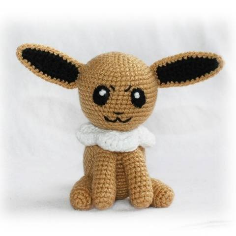 Eevee Pokemon Crochet Pattern
