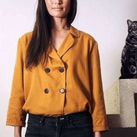 Veste tailleur Poésie patron de couture PDF - du 34 au 48