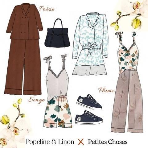 Ensemble pyjama chic Envoutante patron PDF - du 34 au 48