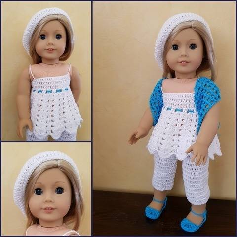"""Inaya"" crochet pattern for American Girl at Makerist"
