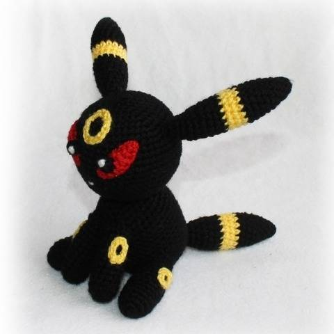 Umbreon Pokemon Crochet Pattern