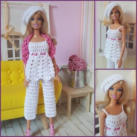 """Inaya"" crochet pattern for Barbie at Makerist"