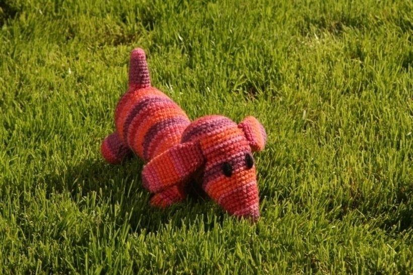 Häkelanleitung Hund Herr Wuff bei Makerist - Bild 1