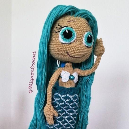 Poupée Sirène déshabillable - Kym Athena  chez Makerist - Image 1