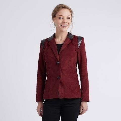 "Nathalie ""Motard"" - Veste tailleur - 36/44 - Expert chez Makerist"