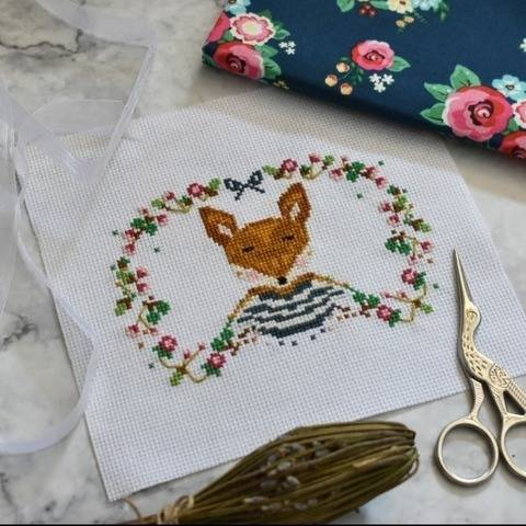 Foxy Cross stitch