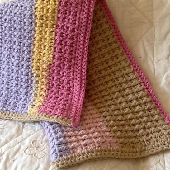 Crocheted Chunky Baby Blanket at Makerist - Image 1