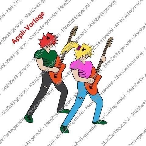 Main Gitarrist / Bassist - Applikations-Vorlage bei Makerist