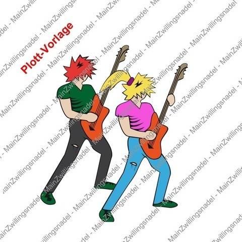 Main Gitarrist / Bassist - Plottvorlage