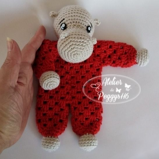 Doudou Hippopotame granny chez Makerist - Image 1