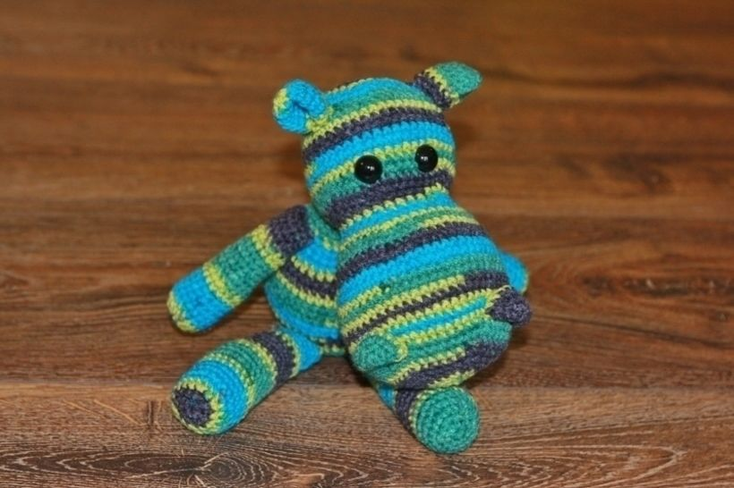 Häkelanleitung Hippo Elvira bei Makerist - Bild 1