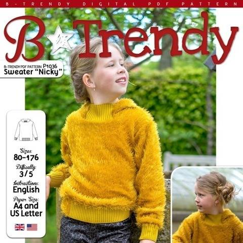 Sweater NICKY PDF Pattern + Tutorial