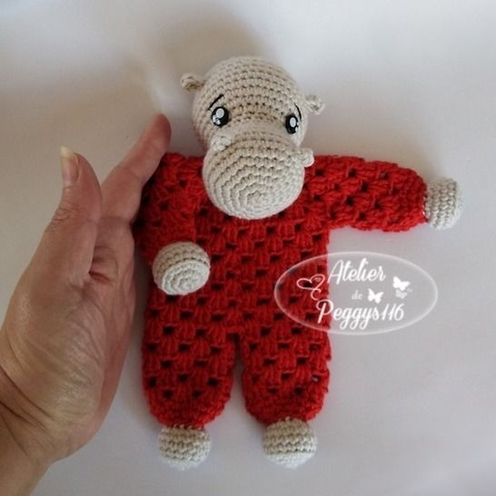 Hippopotamus lovey granny at Makerist - Image 1