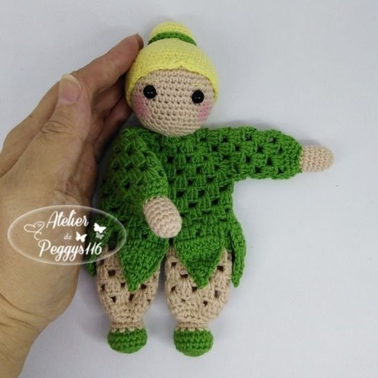 Tinkerbell lovey granny at Makerist - Image 1