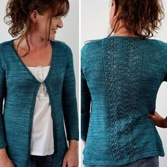 "Strickanleitung Raglanjacke ""Sweet Kisses"" bei Makerist - Bild 1"