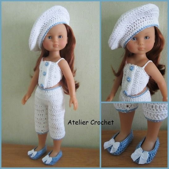 """""""White"""" crochet pattern for Chérie Corolle at Makerist - Image 1"""