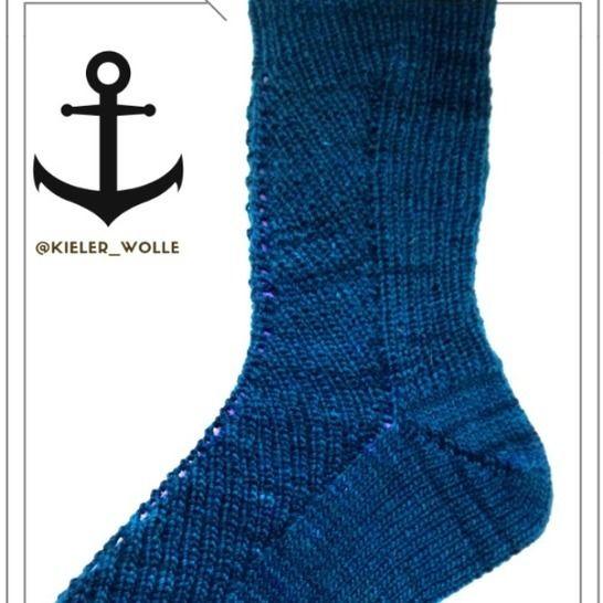 Socken Halfway bei Makerist - Bild 1