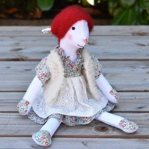 Rosie, Felt doll  English version