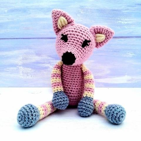 Fox Crochet Pattern - Flossie, Flash and Freddie