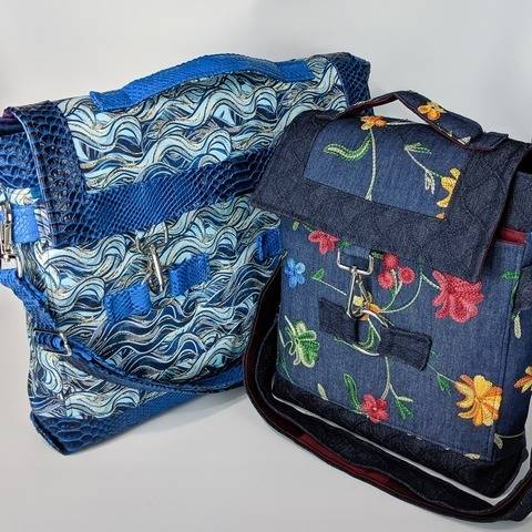 Mercury Messenger Bag Sewing Pattern at Makerist
