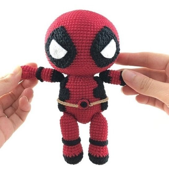Deadpool - patron au crochet chez Makerist - Image 1