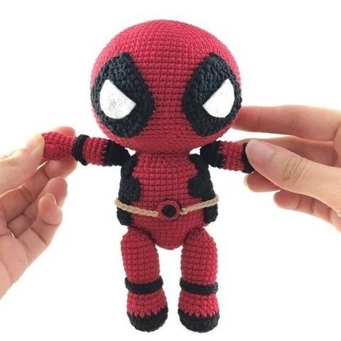 Deadpool - patron au crochet chez Makerist