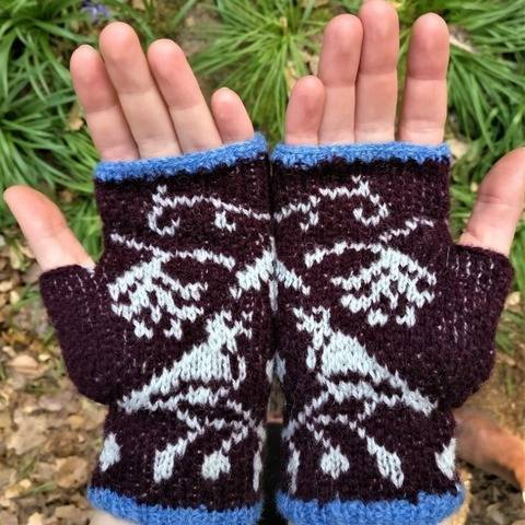 Birds of a Feather Handwarmers