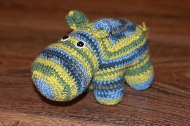 Häkelanleitung Waltraud, das Hippo