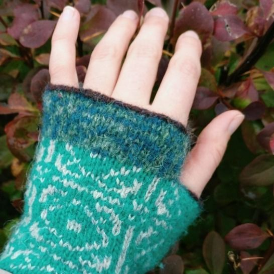 Fairisle Handwarmers at Makerist - Image 1