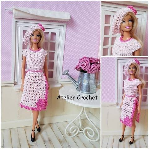 """Janise"" crochet pattern for Barbie at Makerist"