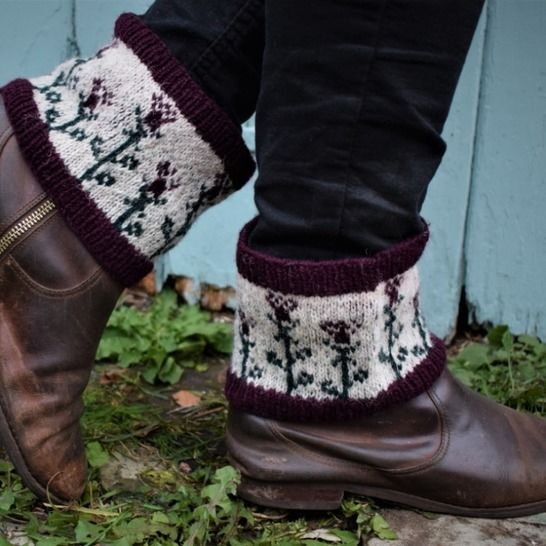 Thistle Boot Cuffs at Makerist - Image 1