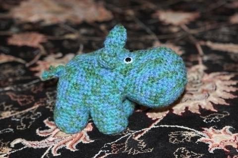 Häkelanleitung Gertrud, das Hippo