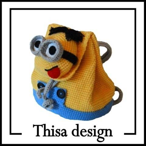 Sac à dos Minion chez Makerist