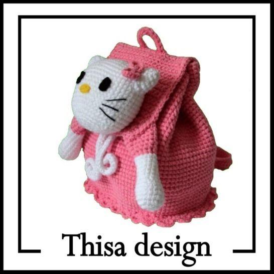 Sac à dos Kitty  chez Makerist - Image 1