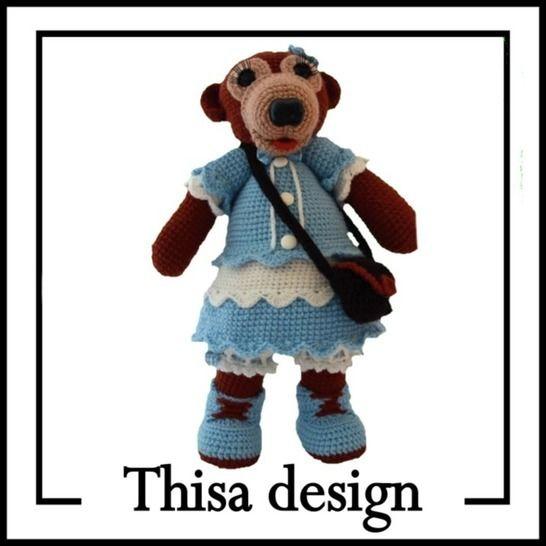 Frisquette l'oursonne chez Makerist - Image 1