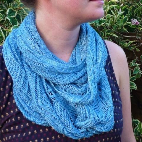 Lace Tree Infinity Scarf