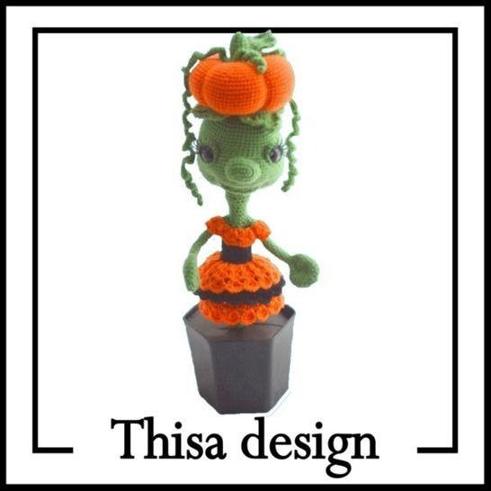 Fleur Citrouille chez Makerist - Image 1