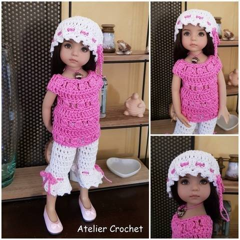 """Octavia"" patron crochet pour Little Darling chez Makerist"