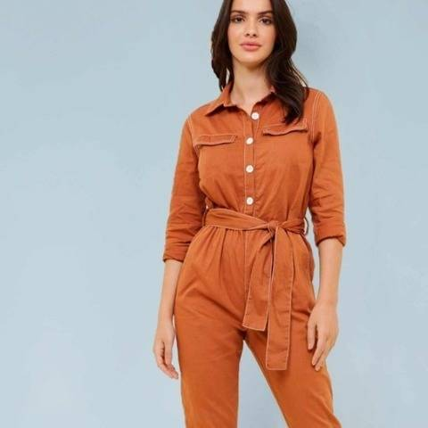 Gimlet Boilersuit // Women's Jumpsuit Sewing Pattern at Makerist