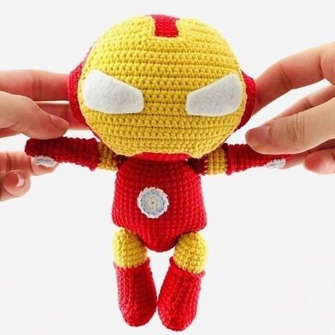 Iron Man - patron au crochet chez Makerist