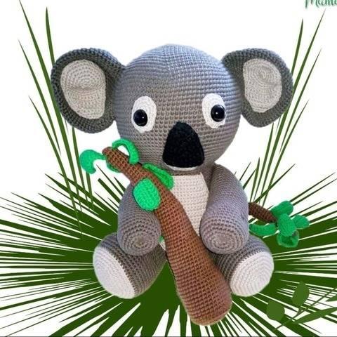 XXL-Amigurumi Koala Karl - Häkelanleitung
