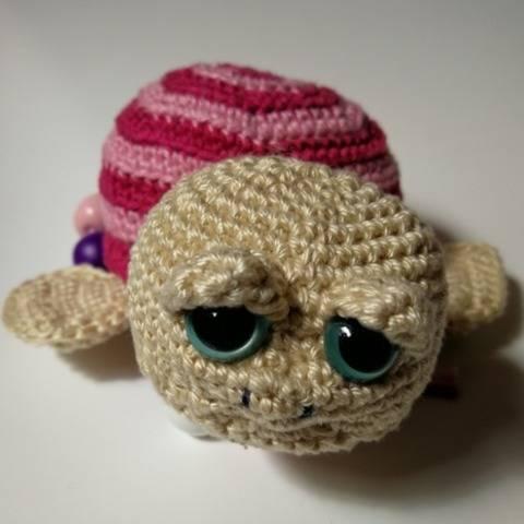 Rechentier Schildkröte - Häkelanleitung